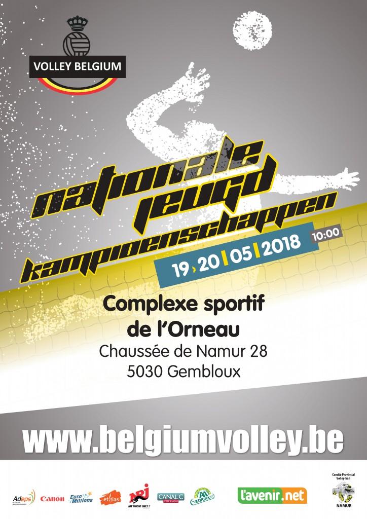 nationale jeugdkampioenschappen 2018